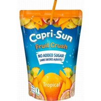 Capri-Sun - Fruit Crush Tropical No Added Sugar Saft 200ml (LAGERND CC CITA)